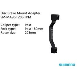 Image: SHIMANO SM-MA90-F203-PP MOUNT ADAPTOR