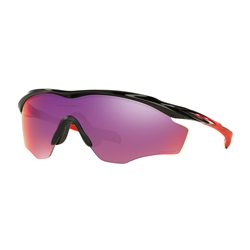 Image: OAKLEY M2 FRAME XL POLISHED BLACK - PRIZM ROAD