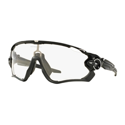 Image: OAKLEY JAWBREAKER POLISHED BLACK - CLEAR / BLACK PHOTOCHROMATIC