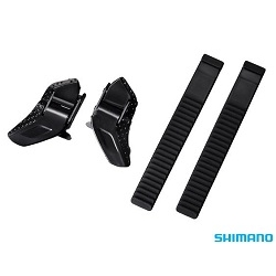 Image: SHIMANO LOW PROFILE BUCKLE AND STRAP SET BLACK