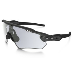 Image: OAKLEY RADAR EV PATH STEEL - CLEAR / BLACK PHOTOCHROMATIC