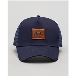 Image: OAKLEY DRAINER CAP FOGGY BLUE UNIVERSAL