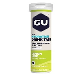 Image: GU HYDRATION DRINK 12 TABS LEMON/LIME