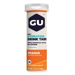 Image: GU HYDRATION DRINK 12 TABS ORANGE