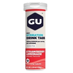 Image: GU HYDRATION DRINK 12 TABS STRAWBERRY/LEMONADE