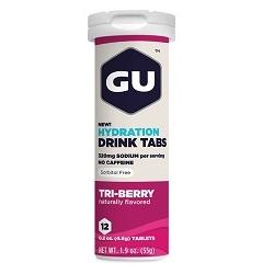 Image: GU HYDRATION DRINK 12 TABS TRI BERRY