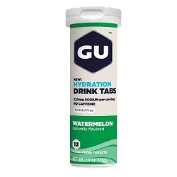Image: GU HYDRATION DRINK 12 TABS WATERMELON