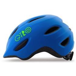 Image: GIRO SCAMP HELMET MATT BLUE / LIME SMALL