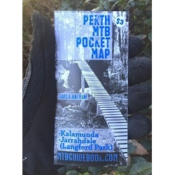 Image: GENERIC MTB TRAIL GUIDE PERTH POCKET MAP