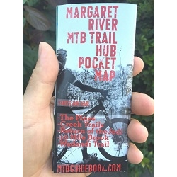 Image: GENERIC MTB TRAIL GUIDE MARGARET RIVER POCKET MAP