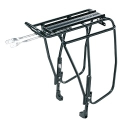 Image: TOPEAK UNI SUPER TOURIST DX RACK W/DISC MOUNT BLACK