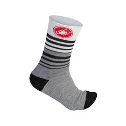 Image: CASTELLI RIGHINA MERINO 13CM SOCK LADIES LIGHT GREY L/XL (39-41 EU)
