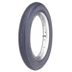 Image: KENDA K124 TYRE 12 INCH SMOOTH TREAD BLACK