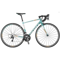 Image: SCOTT CONTESSA SOLACE 35 2016 WHITE / TEAL SMALL - 51