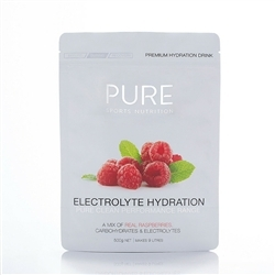 Image: PURE ELECTROLYTE HYDRATION 500G RASPBERRY