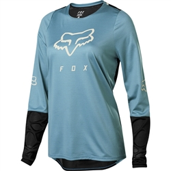 Image: FOX HEAD DEFEND LADIES LS JERSEY 22967 2020
