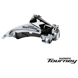 Image: SHIMANO TOURNEY FD-TY510 FRONT DERAILLEUR 66-69