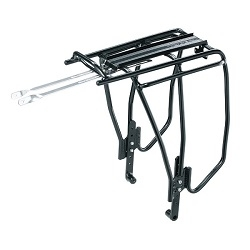 Image: TOPEAK UNI SUPER TOURIST FAT RACK W/DISC MOUNT BLACK