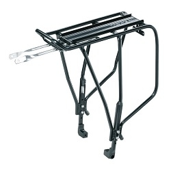 Image: TOPEAK UNI SUPER TOURIST RACK W/DISC MOUNT BLACK