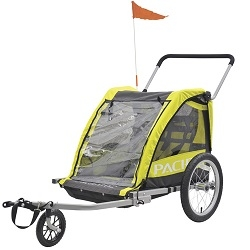 Image: PACIFIC PACIFIC KIDS TRAILER / STROLLER DOUBLE 2 IN 1