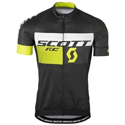 Image: SCOTT JERSEY RC PRO BLACK / YELLOW MEDIUM