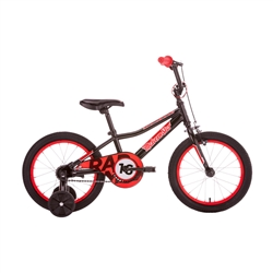 Image: MALVERN STAR RADMAX 16B BLACK / RED
