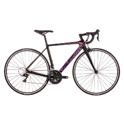 Image: AVANTI GIRO C1 WOMENS 2018 BLACK / PINK MEDIUM - 55.0