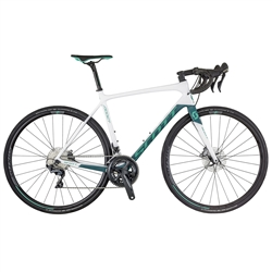 Image: SCOTT CONTESSA ADDICT 15 DISC 2018 WHITE / TEAL MEDIUM - 54