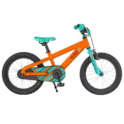 Image: SCOTT VOLTAGE JR 16 2018 ORANGE / LIGHT BLUE