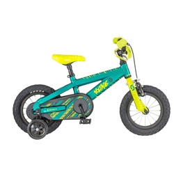 Image: SCOTT VOLTAGE JR 12 2018 TEAL / YELLOW