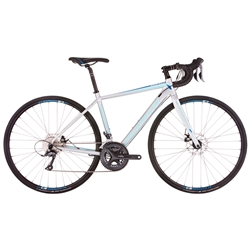 Image: AVANTI GIRO AR1 W 2019 SILVER / BLUE SMALL/MEDIUM - 54.0