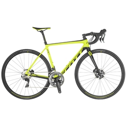 Image: SCOTT ADDICT RC 10 DISC 2019 FLUORO YELLOW / BLACK MEDIUM - 54