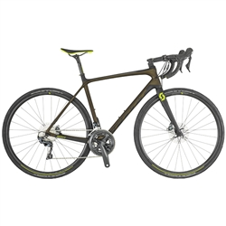 Image: SCOTT ADDICT 10 DISC 2019 DARK OLIVE / BLACK LARGE - 56