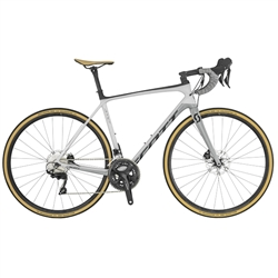 Image: SCOTT ADDICT 20 DISC 2019 BLACK / WHITE / SILVER MEDIUM - 54