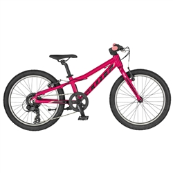 Image: SCOTT CONTESSA 20 RIGID FORK 2019 BRIGHT PINK