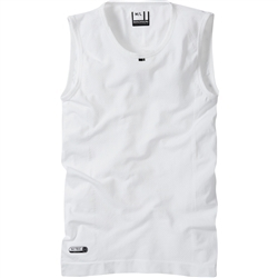 Image: MADISON ISOLER MESH BASELAYER SLEEVELESS WHITE MEDIUM/LARGE