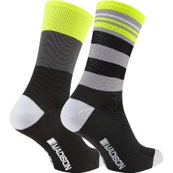 Image: MADISON SPORTIVE LONG SOCK TWIN PACK MENS
