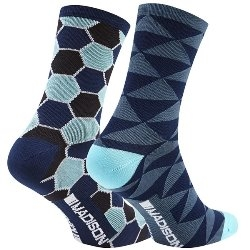 Image: MADISON SPORTIVE LONG SOCK TWIN PACK LADIES
