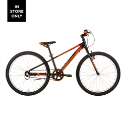 Image: MALVERN STAR ATTITUDE 24I 2021 BLACK / ORANGE