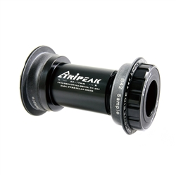 Image: TRIPEAK TWISTFIT PF30/BB30 PLUS A TYPE TO 24MM STEEL BEARING BLACK