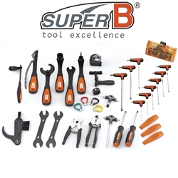 Image: SUPER B 35 PIECE BIKE TOOL SET IN TOOL BOX