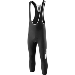 Image: MADISON SPORTIVE FJORD DWR 3/4 BIB SHORTS MENS BLACK SMALL