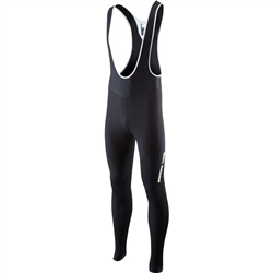 Image: MADISON SPORTIVE FJORD DWR BIB TIGHTS WITHOUT PAD BLACK MEDIUM