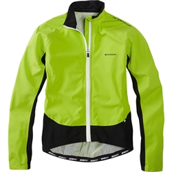 Image: MADISON SPORTIVE HI-VIZ WATERPROOF JACKET LADIES