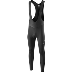 Image: MADISON PELOTON BIB TIGHTS MENS BLACK 2XLARGE