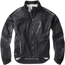 Image: MADISON STELLAR WATERPROOF JACKET MENS BLACK SMALL
