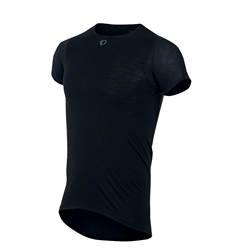 Image: PEARL IZUMI TRANSFER WOOL BASELAYER SHORT SLEEVE