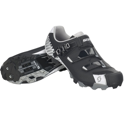 Image: SCOTT MTB PRO SHOE MATTE BLACK / GLOSS WHITE 47