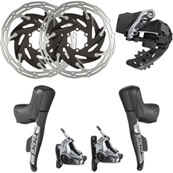 Image: SRAM RED ETAP AXS 1X HYDRAULIC FLAT MOUNT UPGRADE KIT