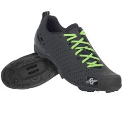 Image: SCOTT MTB COMP LACE SHOES MATT BLACK / GLOSS BLACK 42